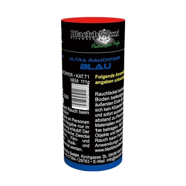 Ultra Rauchtopf blau Bühnenfeuerwerk Rauch Blackboxx Fireworks