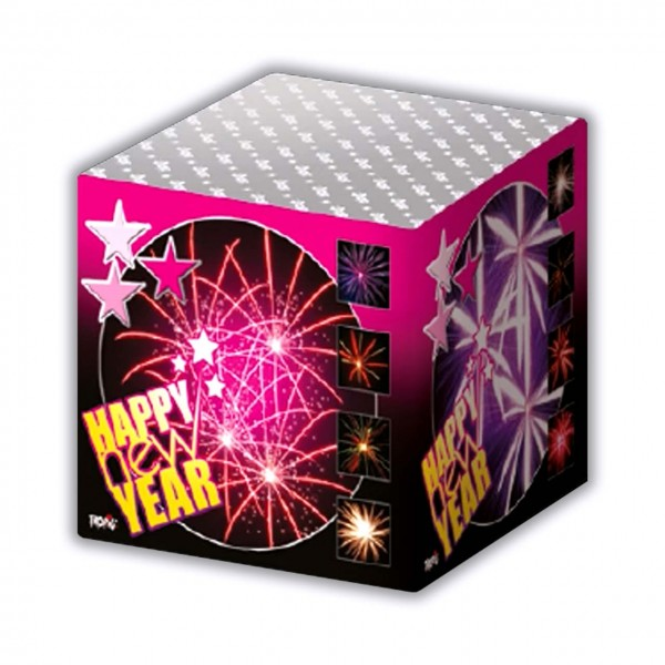 Happy New Year Kategorie F3 Batteriefeuerwerk Tropic