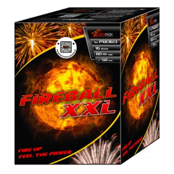 Fireball XXL Kategorie F3 Batteriefeuerwerk Piromax