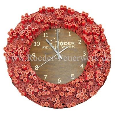 Uhr Celebration Cracker  Merchandising Werbemittel Lesli Feuerwerk