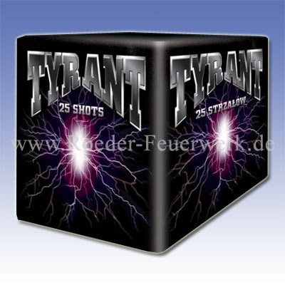 Tyrant Batteriefeuerwerk Jorge Feuerwerk