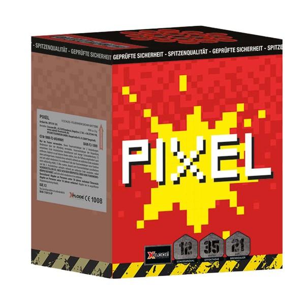 Pixel Batteriefeuerwerk Xplode Feuerwerk