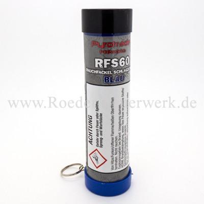 Rauchfackel Blau mit Schlagzünder Bühnenfeuerwerk Rauch PGE Pyrotrade