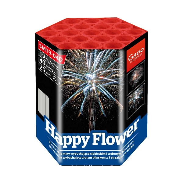Happy Flower Batteriefeuerwerk Gaoo