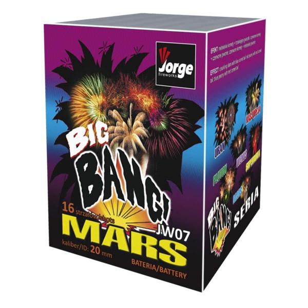 Mars Batteriefeuerwerk Jorge Feuerwerk