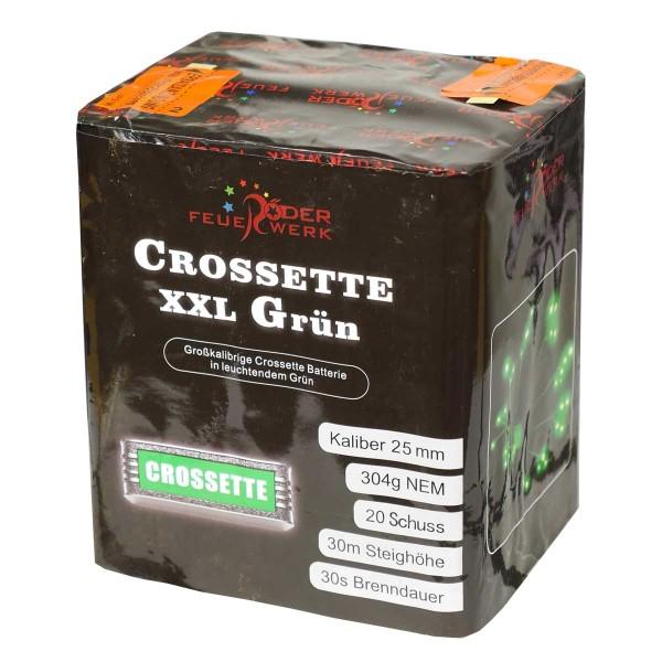 Crossette XXL Grün Batteriefeuerwerk Röder Feuerwerk