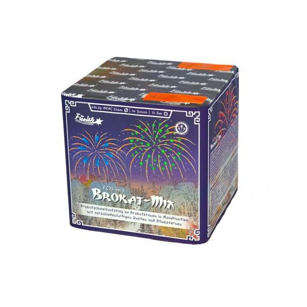 Brokat-Mix FC25-36-3 Batteriefeuerwerk funke