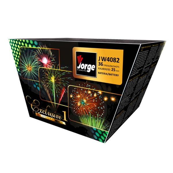 Exclusive Collection 1 (NEU) Batteriefeuerwerk Jorge Feuerwerk