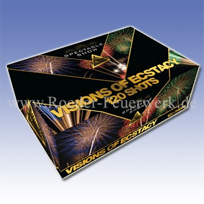 Visions of Extasy Batteriefeuerwerk evolution Feuerwerk