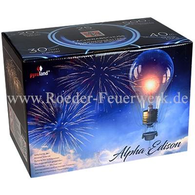 Alpha Edison Batteriefeuerwerk Bothmer Pyroland Pyrotechnik