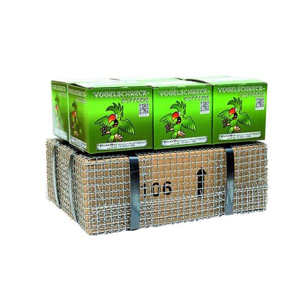 Vogelschreck- Batterie 6er- Kiste Batteriefeuerwerk Blackboxx Fireworks