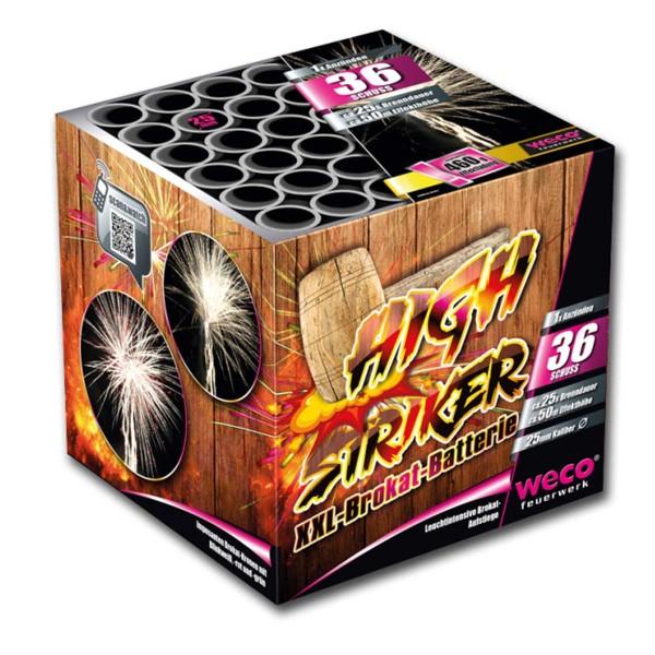 High Striker Batteriefeuerwerk weco feuerwerk