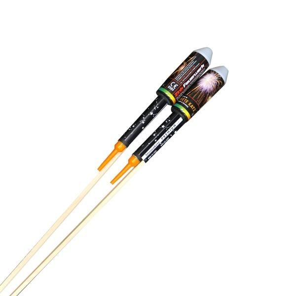 Sonderfüllung Leuchtkäfer- Blinker 5er- Pack Raketen und Sortimente Raketensortimente Zink Feuerwerk