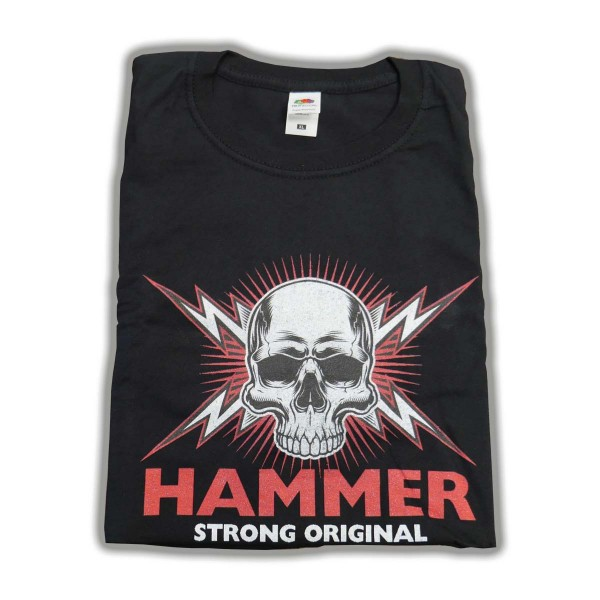 Merch T-Shirt L mit HAMMER Logo