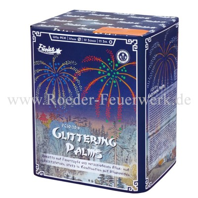 Glittering Palms FC30-20-6 Batteriefeuerwerk funke