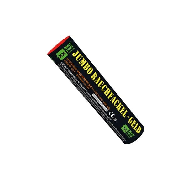 Jumbo Rauchfackel gelb Bühnenfeuerwerk Rauch Blackboxx Fireworks