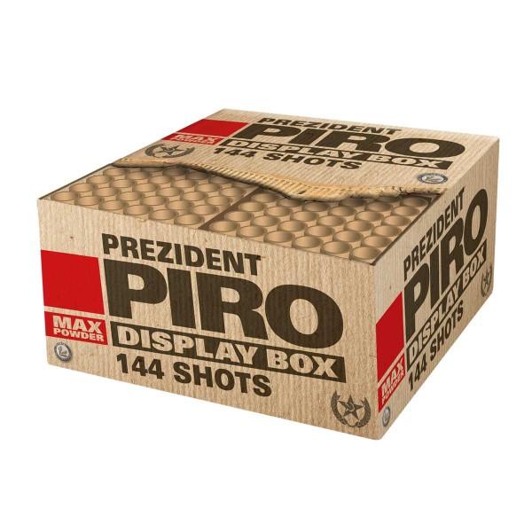 Prezident Piro Verbundfeuerwerk Lesli Feuerwerk
