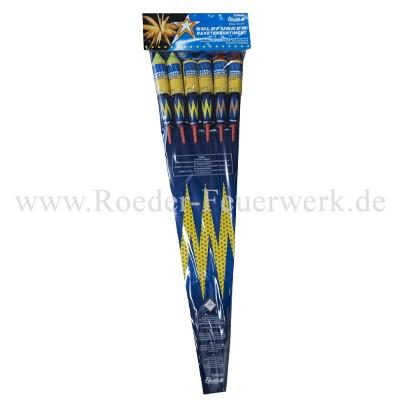 Goldfunken Raketensortiment Raketen und Sortimente Funke Raketen Funke