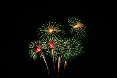 Blumen an den Himmel zaubern, Feuerwerke mit floralen Effekten