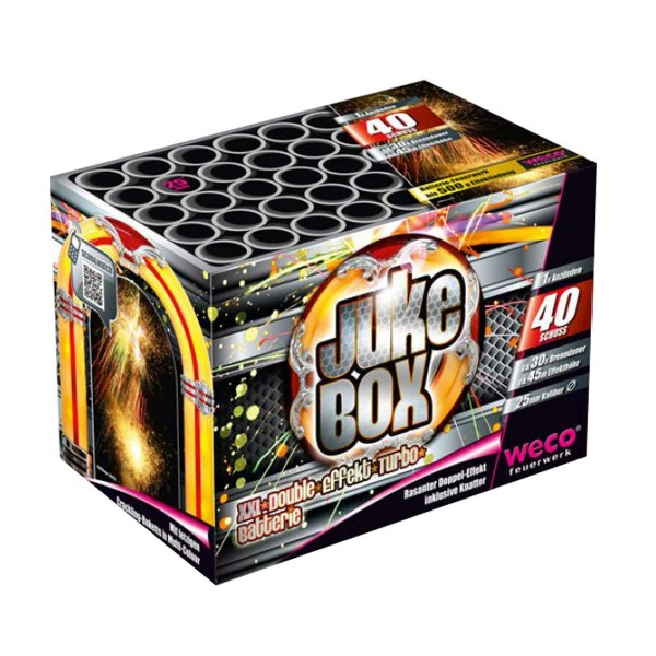 Jukebox Batteriefeuerwerk weco feuerwerk