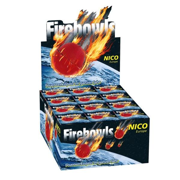 Firebowls Display (36x4 Stück) Jugendfeuerwerk Jugendfeuerwerk Nico Feuerwerk