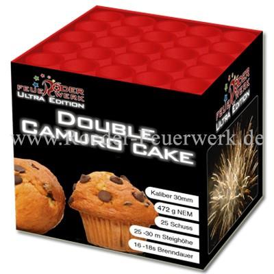 Double Camuro Cake 2er- Kiste Batteriefeuerwerk Röder Lesli Feuerwerk