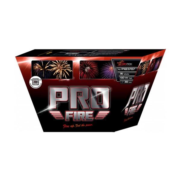 Pro Fire Red Kategorie F3 Batteriefeuerwerk Piromax