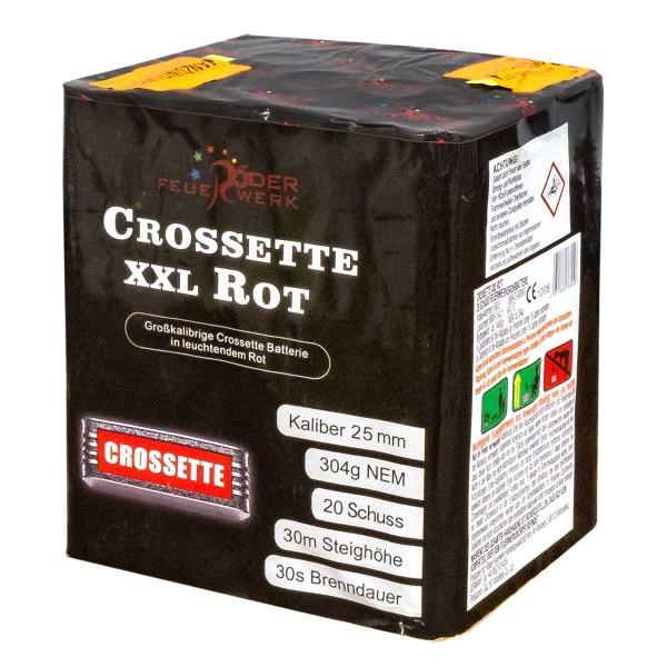 Crossette XXL Rot Batteriefeuerwerk Röder Feuerwerk