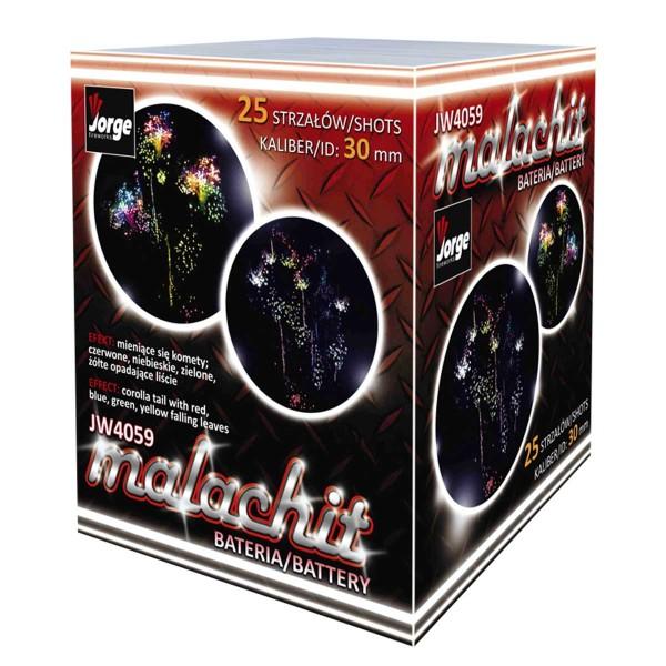 Malachit Batteriefeuerwerk Jorge Feuerwerk