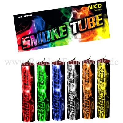 Smoke Tube 6er- Beutel Bühnenfeuerwerk Rauch Nico Feuerwerk