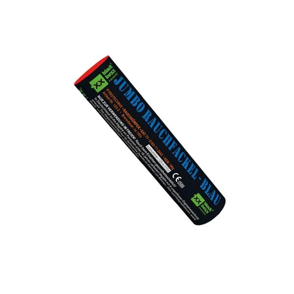 Jumbo Rauchfackel blau Bühnenfeuerwerk Rauch Blackboxx Fireworks