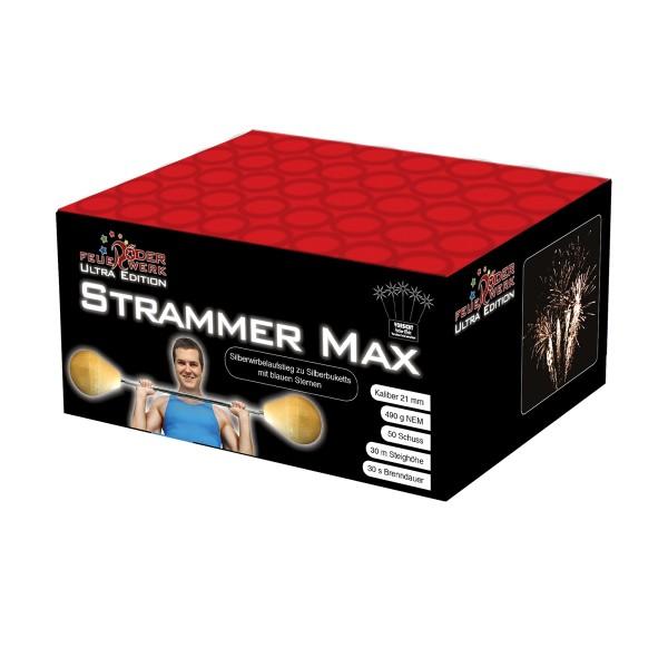 Strammer Max 1er- Kiste Batteriefeuerwerk Röder Feuerwerk