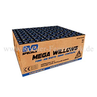 Mega Willows Verbundfeuerwerk Evolution Feuerwerk