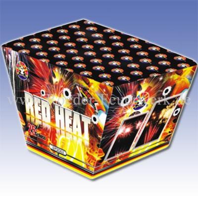 Red Heat/Blame Batteriefeuerwerk panda Feuerwerk