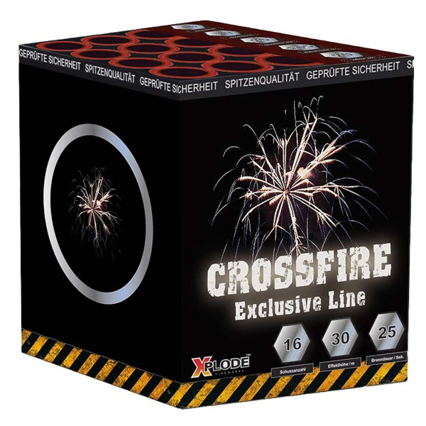 Crossfire Crossette Batteriefeuerwerk Xplode Feuerwerk