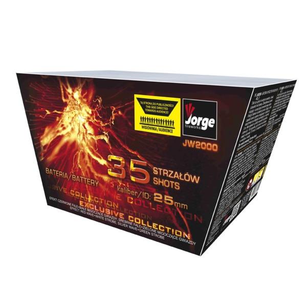 Exclusive Collection Batteriefeuerwerk Jorge Feuerwerk