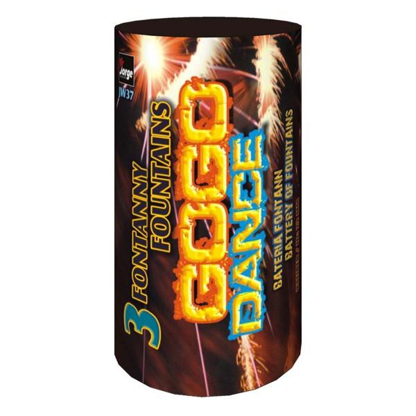 Gogo Dance/Extreme Leuchtfeuerwerk Fontänen Jorge Feuerwerk