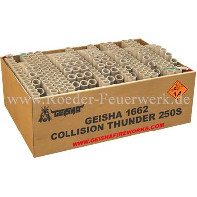 Collision Thunder Verbundfeuerwerk Geisha